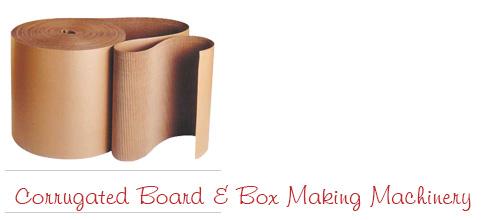 Corrugated Box Making Machines, Corrugation Machinery - Corrugated